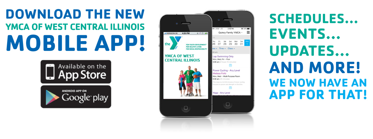 YMCA Quincy, IL mobileapp_header